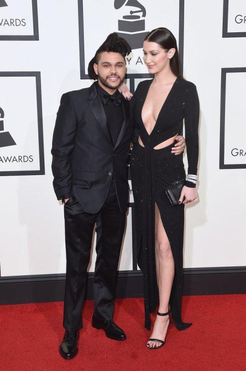 Weeknd-Bella-Hadid-Grammys-2016